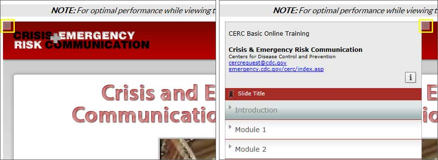 Cerc Online Training Crisis Emergency Risk Communication