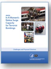 Image: Cover of In a Moment's Notice: Surge Capacity in Terrorist Bombings
