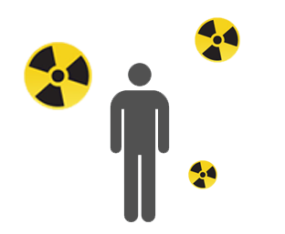radiation exposure image