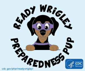 Ready Wrigley Preparedness Pup