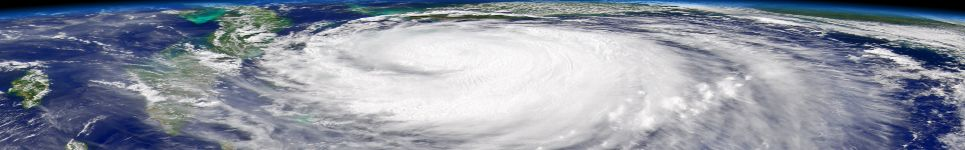 Satellite Imagry of Large Hurricane (Source: NASA)