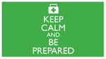 Keep Calm and Be Prepared ecard