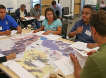 Community members and Tribal Government developing emergency plans.